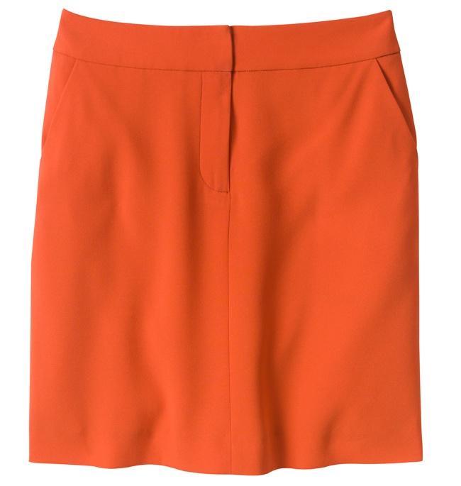 Ann Taylor Crepe A-Line Skirt