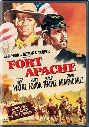 'Fort Apache'~1948 John Wayne,Henry Fonda,Shirley Temple..