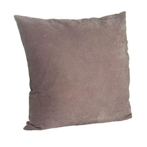 Madam Stoltz Velvet Cushion Cover Light Plum | Simple Style Co