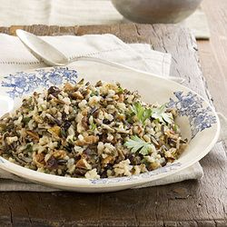 Wild Rice Pilaf in a Crockpot