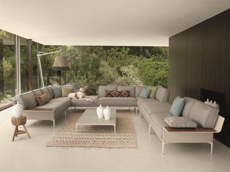 DEDON Rayn Sofa U0026 Coffee Table | Superarchimoon Floor Lamp