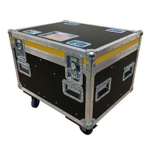 Road Trunk for 4 way Chain Hoist CM Prostar, 3 Phase, LV Control, 4m/min, BPS24 - 13m Chain Case from Best Flight Cases