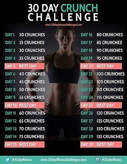 30 day cruch challenge