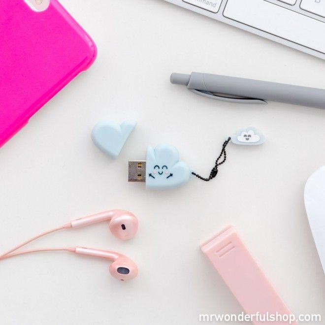 Memoria USB - Nube #mrwonderfulshop #memorie #usb #accessories #complements #stationery #cloud