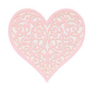 Everything Pink Clip Art | Light pink heart sticker ...