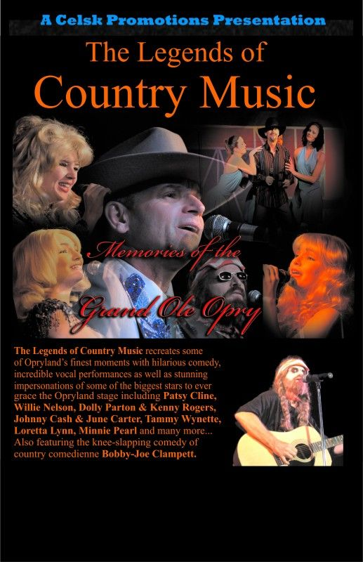 The Legends of Country Music - November 1st, 2014 - Charles W. Stockey Centre for the Performing Arts, Parry Sound, Ontario