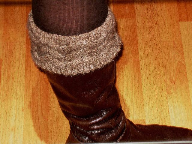 131 Best Knit Boot Toppers Images On Pinterest Knitting Patterns
