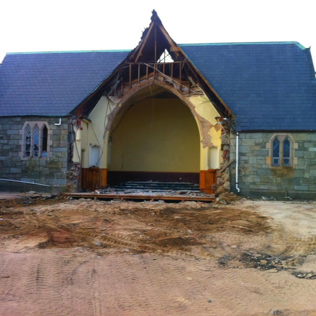 This is the church we were married in... Or what's left of it :-(