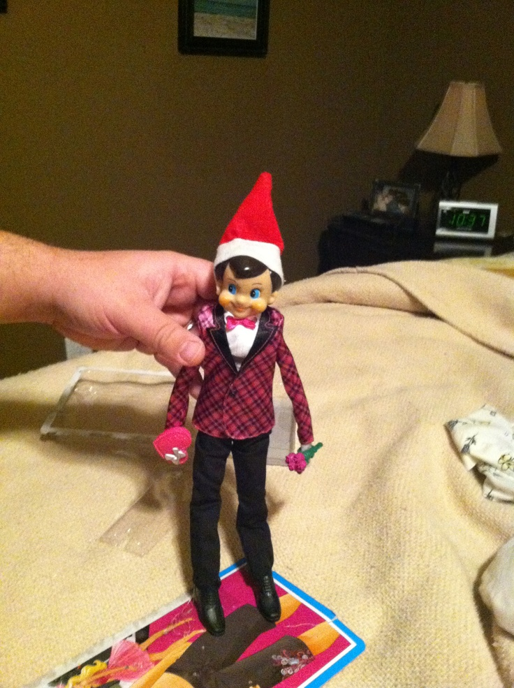 Ken Doll Clothes Fit Elf On The Shelf Christmas