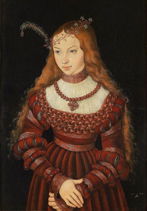Princess Sibylla of Cleve by Lucas Cranach the Elder, 1526