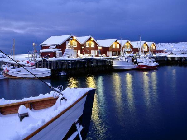 Bodø, Noruega (foto de Karl Lehmann)