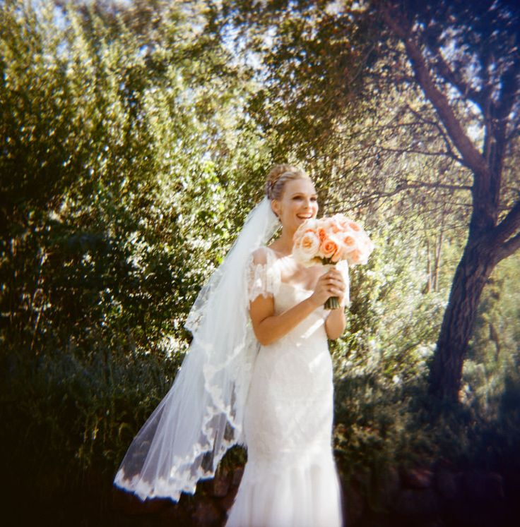 Molly Sims wedding photo by Gia Canali - the happy bride