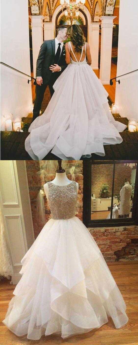 Backless prom dresses, long prom dresses, beaded prom dresses, dresses for women, women's prom dresses, cheap prom dresses