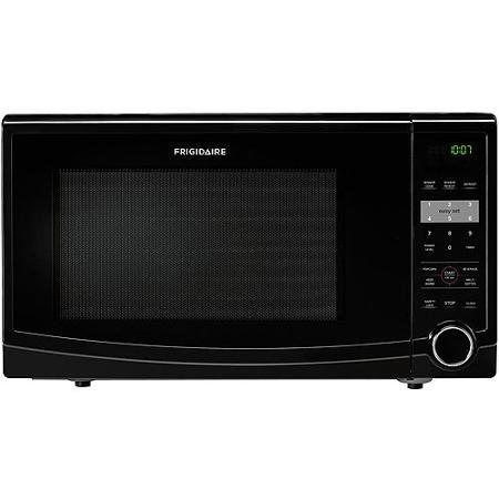 Frigidaire 1.1 Cu Ft 1100W Countertop Microwave Oven, Black