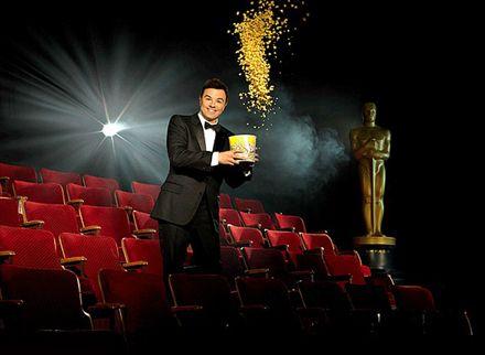 Oscars 2013 promo pic with Seth McFarlane