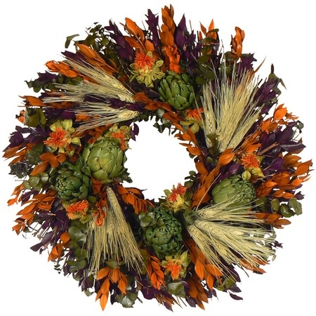 Love the artichokes in this wreath - $29.95