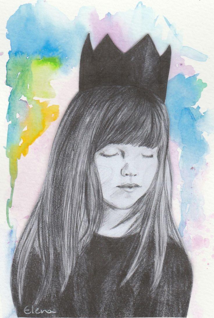 Girl Watercolor