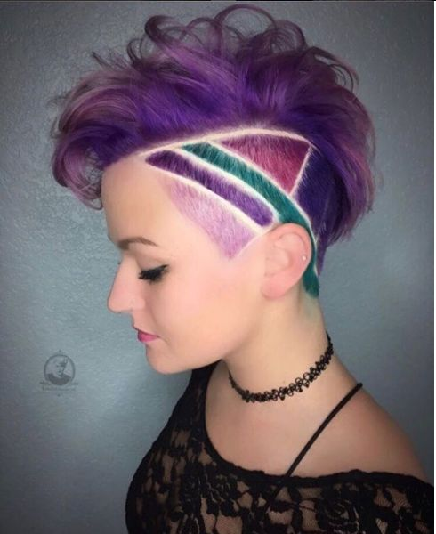 artistic hair styles