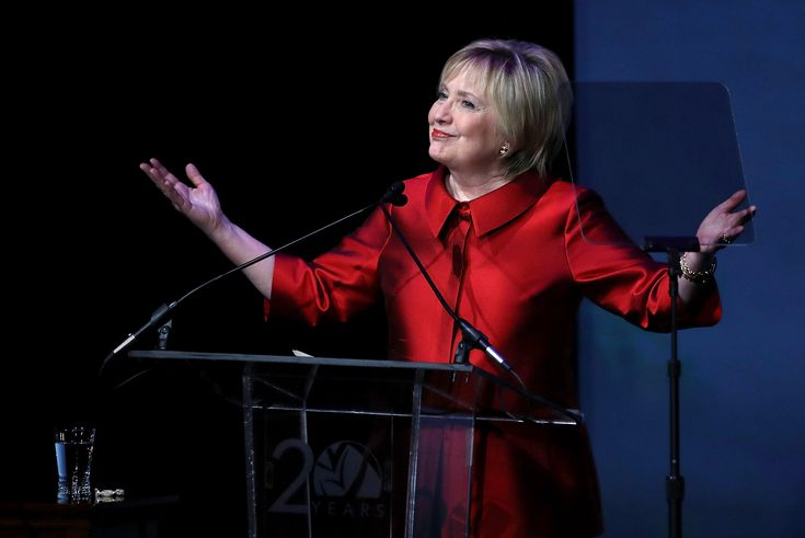"""""""I'm like a lot of my friends right now, I have a hard time watching the news,"""" Clinton told an Irish women's group in Scranton, Penn."""