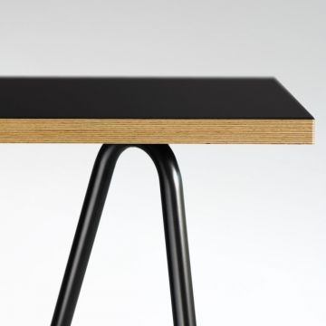 Linoleum Tischplatte Basic | Tischplatten Basic | Faust Linoleum - Online Shop – für Linoleum Tischplatten zum Eiermann Tischgestell passend...