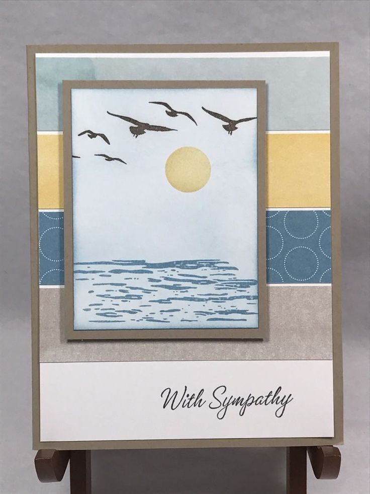 Stampin Up Card Thinking of You Sympathy Card Condolence Greeting Card #Handmade #ThinkingofYou