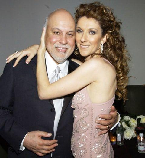 Rene Angélil and Celine Dion