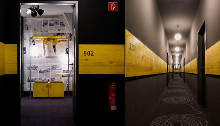 Superbude II hotel – hostel by Dreimeta, Hamburg – Germany » Retail Design Blog