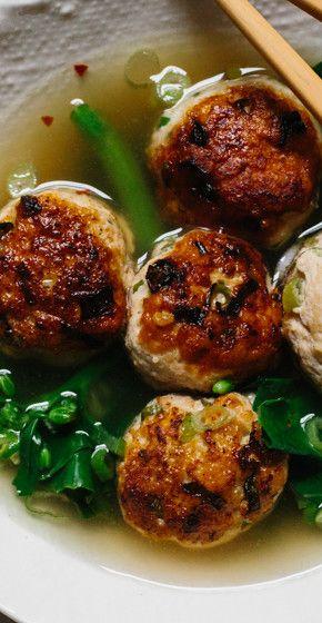 Ginger-Chicken Meatballs recipe: Gluten-free!