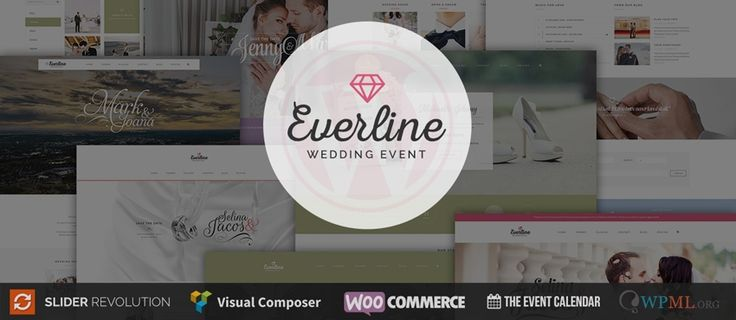 Everline v1.3 - Wedding WordPress Theme was released