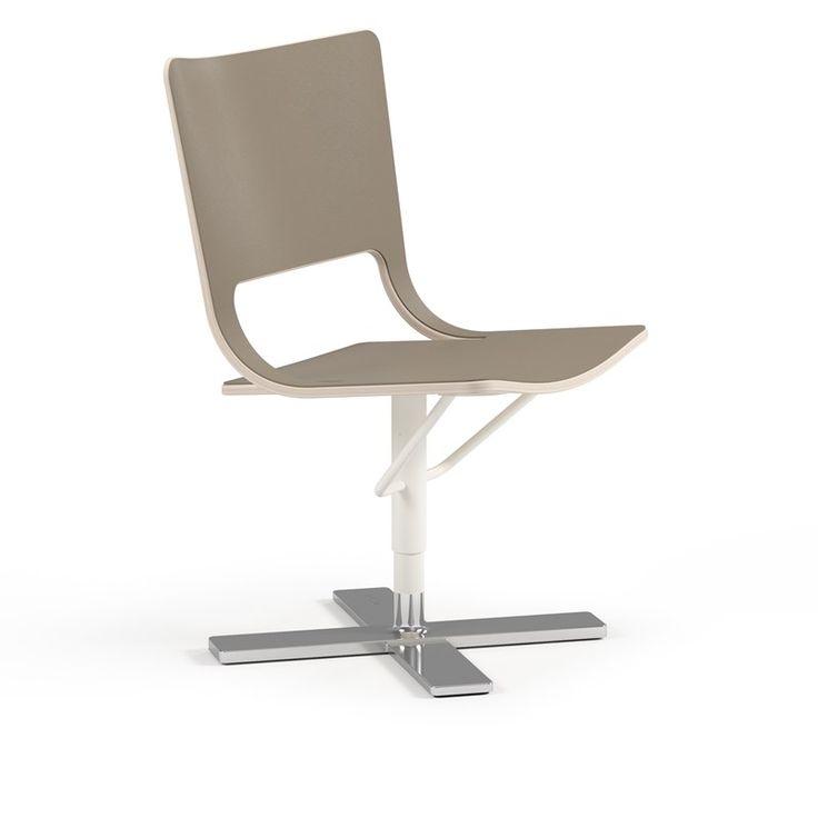 Air is een comfortabele stoel die omgevingen cre ert en is ontworpen voor informele - Comfortabele stoel ...