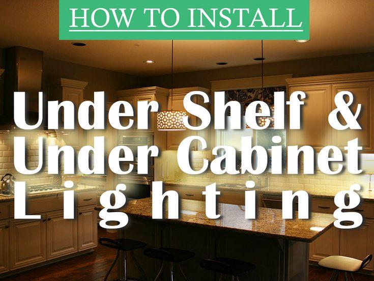 17 best ideas about installing under cabinet lighting on. Black Bedroom Furniture Sets. Home Design Ideas