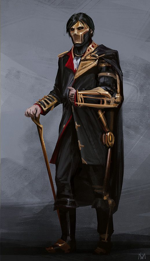 Steampunk character concept, Nagy Norbert on ArtStation at https://www.artstation.com/artwork/0o02e