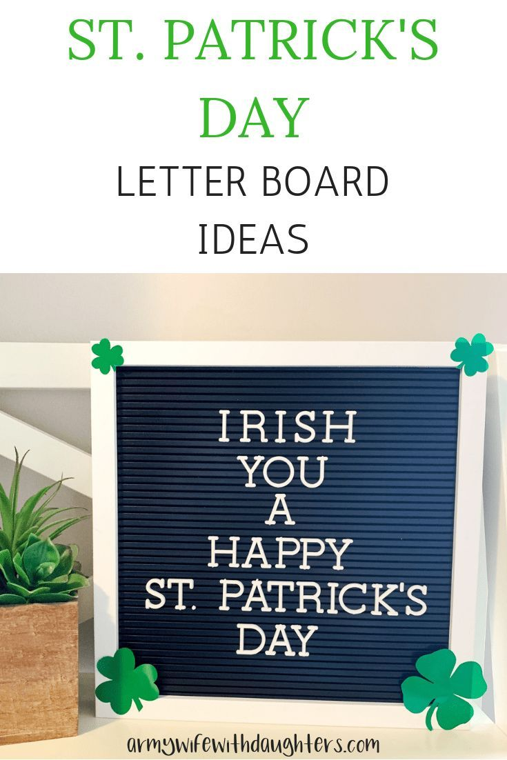 20 St Patrick S Day Letter Board Ideas St Patricks Day Quotes Message Board Quotes Letter Board