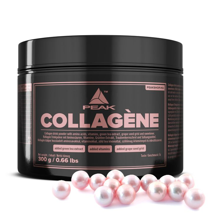 Peak Collagène kollagén italpor hozzáadott aminosavakkal és vitaminokkal