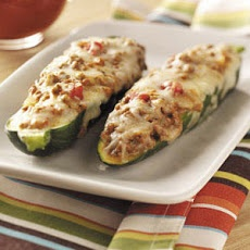 Beef-Stuffed Zucchini Recipe Recipe
