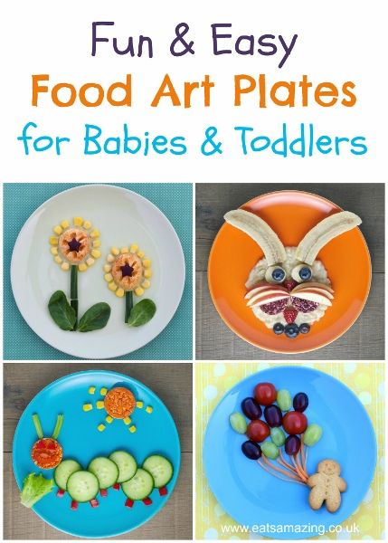 Fun, healthy and easy Food Art Plates for kids with full instructions from Eats Amazing UK