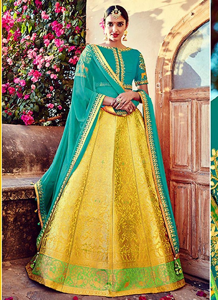 Miraculous Banarasi Silk Lehenga