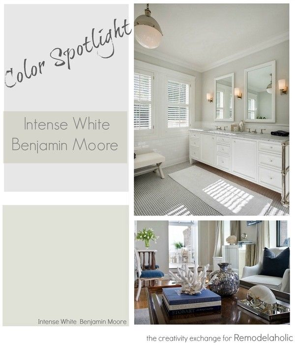 Benjamin Moore Intense White Is One Of The Most Beautiful