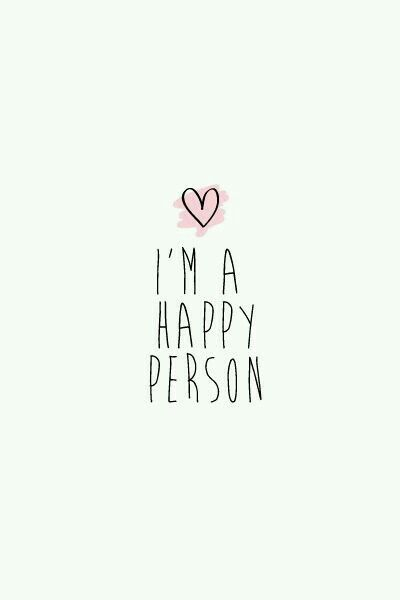 It's true. I am so happy in my life right now ❤