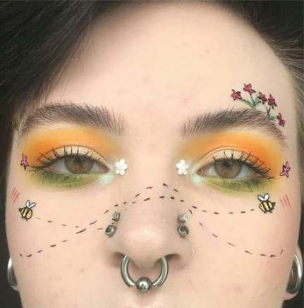 30 ideas makeup morenas fantasia makeup  aesthetic