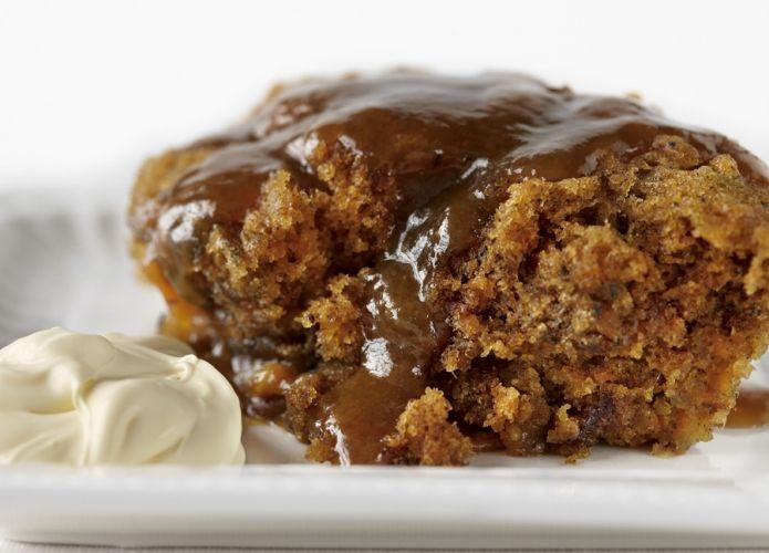 Chocolate sticky date & pecan loaf