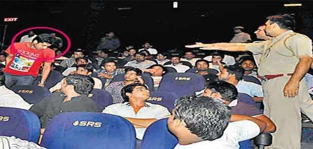 Central Thana Police on Tuesday raided multiplexes in four malls of the city and detained 23 minors as they were watching 'Grand Masti' for more news on Latest Breaking News ,English News paper in india English News paper,English News,Indian English News Paper,Daily News,News In English,Daily News In English,Indian English News Paper,News from India In English..   read more at :http://daily.bhaskar.com/national/