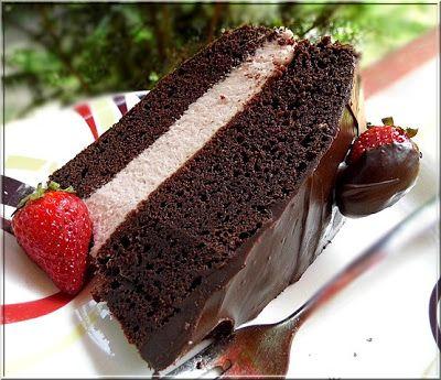 Limara péksége: Epres csokitorta