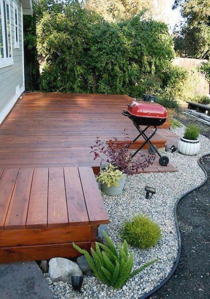 30 Outstanding Wood Patios And Decks Small Backyard Decks Small