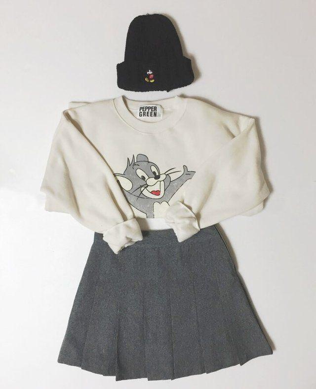 #korean, #fashion, #ootd, #beanie,