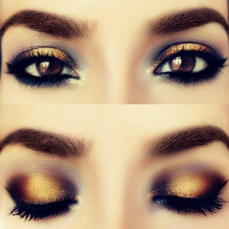 Bronze and black….for those brown eyed girls