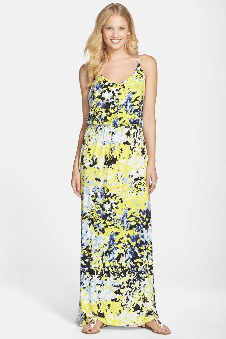 Felicity and Coco | Print Racerback Maxi Dress | Nordstrom Rack  Sponsored by Nordstrom Rack.