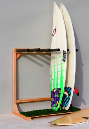 Self Standing Surfboard Racks By Epic Surf To Eliminate The Need For A Ladder When Getting My Boards Done From Ceiling Rack