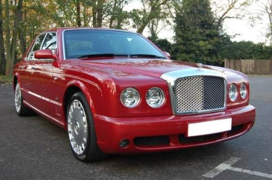 Used 2005 (54 reg) Red Bentley Arnage Arnage LWB 4dr Auto for sale on RAC Cars