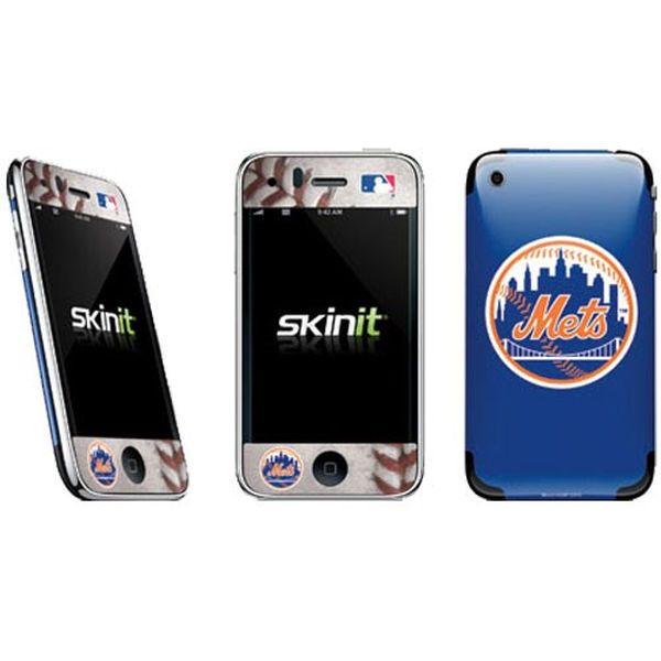 New York Mets Navy Blue iPhone Skin Decal - $3.99